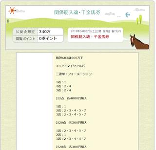 【金馬券】0407_千金馬券のコピー